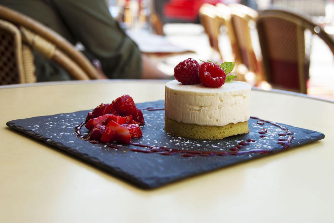 Dessert maison Le Rouge Limé
